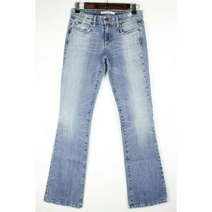 Joe's Jeans Distressed Bootcut Mid Rise Stretch
